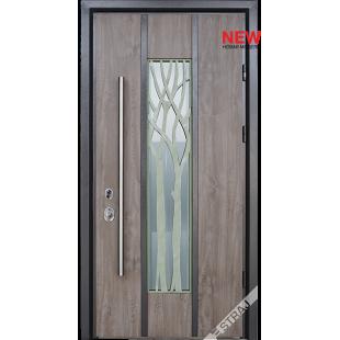 Дверь входная металлическая Робле vin дуб серый PF