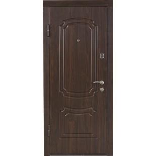 Дверь входная металлическая ПО-01.в. вишня дымч. (vin)