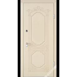 Дверь входная металлическая R 29 vin слоновая кость