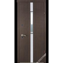 Дверь входная металлическая Коста vin вишня темная