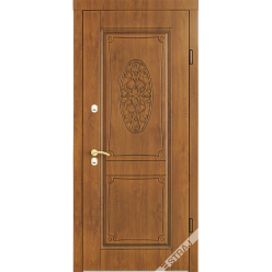 Дверь входная металлическая Прима 3D вин. дуб светлый