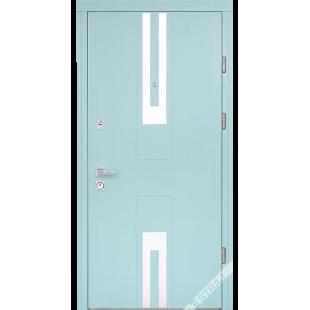 Дверь входная металлическая Эстило дуб бирюза