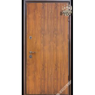 Дверь входная металлическая Proof vin дуб золотой PF
