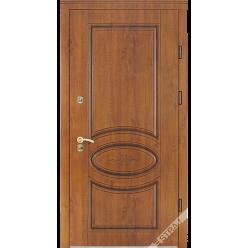 Дверь входная металлическая Кантри Pt vin дуб золотой