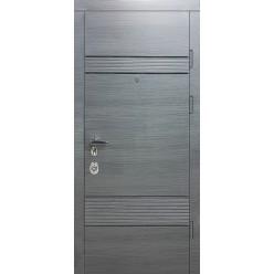 Дверь входная металлическая три петли серия Статус