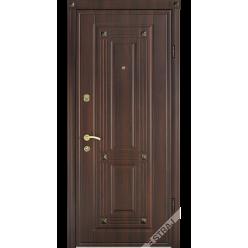 Дверь входная металлическая Эккриз венге золото