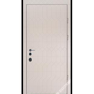 Дверь входная металлическая Антрацит дуб ценамон