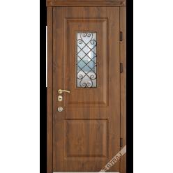 Дверь входная металлическая Классик vin дуб золотой