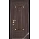 Дверь входная металлическая Эклипс vin дуб темный
