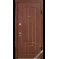Дверь входная металлическая Модель В44 каштан
