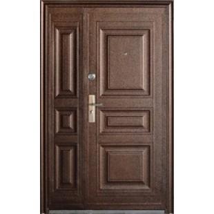 Дверь полуторная входная металлическая ТР-С 68 Q4 молоток