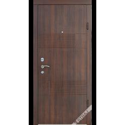 Дверь входная металлическая Калифорния каштан