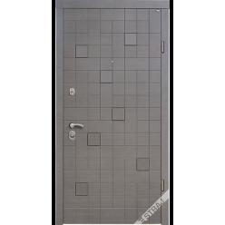 Дверь входная металлическая Каскад Plus венге горизонт
