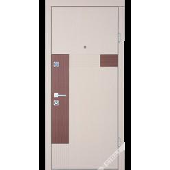 Дверь входная металлическая Петра дуб ценамон