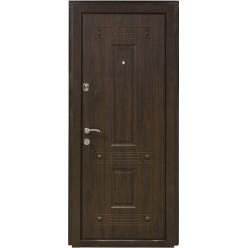 Дверь входная металлическая ПК-28.н.в. орех коньячный (vin)