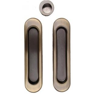 Ручки для раздвижной двери без замка KEDR AB (GP,SN)