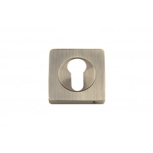 Накладка под цилиндр KEDR Квадрат ET0801-AB (Graffit,SN/CP)